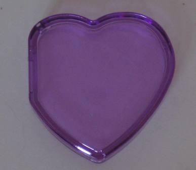 Beanie Baby Tag Cover (Purple Heart)